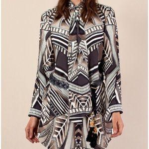 Preowned Hale Bob Shirtdress Size XL